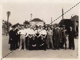 Photo équipe Avant Le Championnat De Balle Pelote Du C.I.C. à Uccle Fort Jaco Juin 1935 - Sports