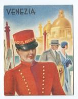 ITALIE  VENISE VENEZIA GUIDE TOURISTIQUE Hotel De L'Europe  En 3 Volets - Tourism Brochures