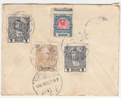 Prosvjetom Slobodi Cinderella On Letter Cover Posted 1908 Neumarkt To Zagreb B200601 - Croazia