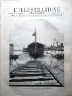 L'Illustrazione Italiana 12 Luglio 1891 Varo Corazzata Sicilia Pompieri Milano - Avant 1900