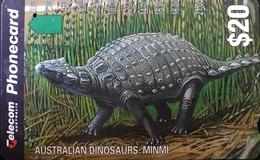 AUSTRALIE  -  Phonecard  -  Telecom Australia  -  Minimi  -  $ 20 - Australië