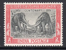 India 1951 Geological Survey, MNH, SG 334 (D) - 1950-59 Republik