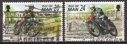 GB - Insel Man (1996)  Mi.Nr.  679 + 680  Gest. / Used  (4gh29) - Man (Eiland)
