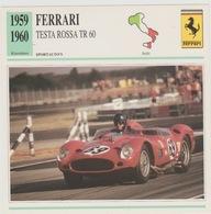 Verzamelkaarten Collectie Atlas: Ferrari Testa Rossa TR 60 - Voitures