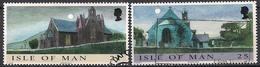 GB - Insel Man (1999)  Mi.Nr.  831 + 832  Gest. / Used  (4gh30) - Man (Eiland)