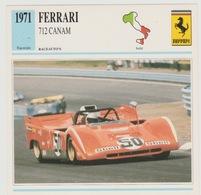 Verzamelkaarten Collectie Atlas: Ferrari 712 Canam - Voitures