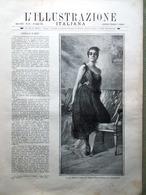 L'Illustrazione Italiana 19 Luglio 1891 Varo Sicilia Hubner Museo Gizeh Londra - Avant 1900
