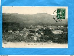 SOLLIES PONT-vue Générale -beau Plan- -a Voyagé En 1911-éditEL D - Sollies Pont