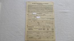 Rare Fragebogen Military Government Of Germany 1946 SHD Argentinien Luftschutzpolizei Inf.Leitmeritz Soldat Orden 1 WK - 1939-45
