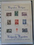 """Belgique COB N°653/600 Sur Feuilet Souvenir """" Antituberculeux """" (2 Scans) - Used Stamps"""