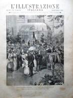 L'Illustrazione Italiana 26 Luglio 1891 Codice Atlantico Leonardo Mameli Crispi - Avant 1900