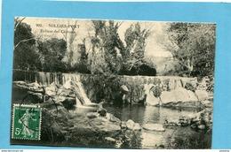 SOLLIES PONT-écluse Des Ceirons -beau Plan- -a Voyagé En 1912-éditCouturieux - Sollies Pont