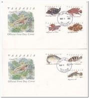 Tanzania 1992, Fishes - Tansania (1964-...)