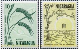 Ref. 347884 * MNH * - NICARAGUA. 1963. CAMPAIGN AGAINST HUNGER . CAMPAÑA CONTRA EL HAMBRE - Nicaragua
