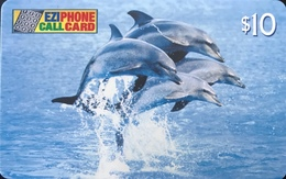 AUSTRALIE  -  Phonecard  -  EZIPHONE CALCARD   -  Dolphins  -  $ 10 - Australië