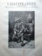 L'Illustrazione Italiana 2 Agosto 1891 Faccio Andreis Principe Di Napoli Eritrea - Avant 1900