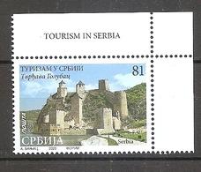 SERBIA  2020 TOURISM GOLUBAC Fortress, River, Architecture,,MNH - Serbia