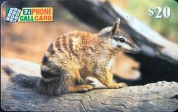 AUSTRALIE  -  Prepaid  -  EZIPHONE CALCARD   - Marsupial  -  $ 20 - Australië