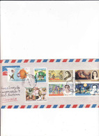 Pakistan 2007, Used Cover From Islamabad, Stamps Painters Of Pakistan, International Women's Day, Ophtalmology - Pakistan