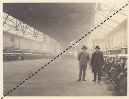 Photo Garage Automobile Minerva Rue Tenbosch à Bruxelles Avril 1930 - Automobiles
