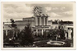 Sommerblumen Am Funkturm Berlin 1934 Foto AK - Deutschland