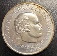 HUNGRIA: MONEDA DE 100 FLORINES AÑO 1968 - Hungary
