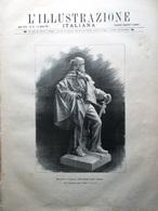 L'Illustrazione Italiana 16 Agosto 1891 Duomo Amalfi Sant'Arcangelo Di Romagna - Avant 1900