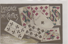 Language Des Cartes - Horoscope - 1916            (A-223-200131) - Playing Cards