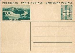 "PK 133  ""Rheinfall - Neuhausen""          1933 - Entiers Postaux"