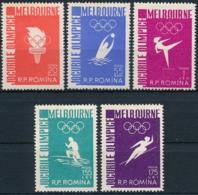 Rumänien 1598-1602 - Postfrisch/** MNH - Olympische Sommerspiele, Melbuourne 1956 - Sommer 1956: Melbourne