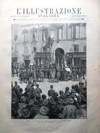 L'Illustrazione Italiana 23 Agosto 1891 Svizzera Mondovì Praga Celentano Allah - Avant 1900