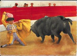 1734 - Farol à Genoux - Torero Guillermo CARVAJAL - Corridas