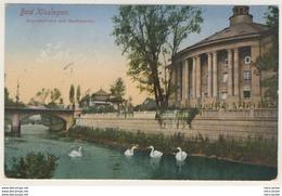 AK Bad Kissingen Regentenbau Mit Saalepartie 1919  _Ansichtskarte _Kleinformat - Bad Kissingen