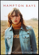 Fille Dans La Campagne. Veste Jeans. Pull à Col Roulé HAMPTON BAYS Girl In The Countryside. Jeans Jacket. Turtleneck Swe - Moda