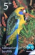 AUSTRALIE  -  Phonecard  -  Pay-Tel  - Green Rosella  -  $ 5 - Australië