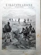 L'Illustrazione Italiana 30 Agosto 1891 Mondovì Tenda Bagni Girompini Saccarello - Avant 1900
