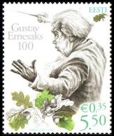 709 - Estonia - 2008 - G. Ernesaks - 1v - MNH - Lemberg-Zp - Estonie