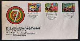 ETIOPIA 1981 RIVOLUZIONE - Ethiopie