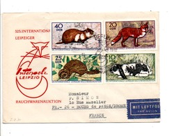 ALLEMAGNE RDA DDR FDC DE BERLIN POUR LA FRANCE 1970 - [6] République Démocratique