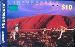 AUSTRALIE  -  Phonecard  -  Telstra  -  $ 10 - Australië