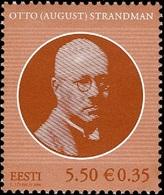 713 - Estonia - 2008 - President Otto Strandman - 1v - MNH - Lemberg-Zp - Estonie