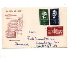 ALLEMAGNE RDA DDR FDC POUR LA FRANCE 1957 - [6] République Démocratique