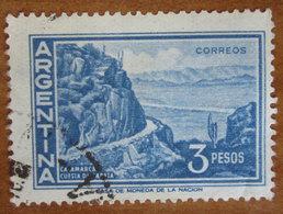 1971 ARGENTINA Paesaggi Montagne Catamarca - Cuesta De Zapata - 3p  Usato - Usati