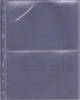 Leuchtturm Optima-Hüllen, Glasklar 2 C, 10er Pack Neu - Sellos