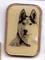 I63 Pin's Chien Husky Chien De Course De Traîneau Sled Dog Achat Immédiat - Animales