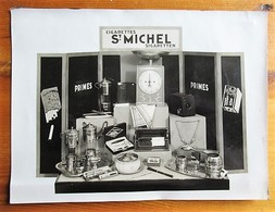 St. Michel (Cigarettes) - Photo Of A Display With The Gifts Offered With The Points Found In The Packs - 235 X 180 Mm - Other