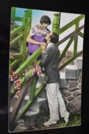 B758 Couple Gallant Love Romantic 1932 - Coppie