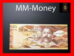 BARBADOS 10 $  30.10.2017  P. 75 B  UNC - Barbados