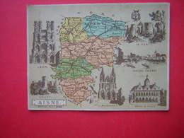 IMAGE  ILLUSTRATION  DEPARTEMENT De L'AISNE     Librairie Hachette Et Cie - Old Paper
