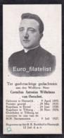 Cornelius Antonius Wilhelmus Van Oorschot, Heeswijk Tilburg, 1895-1924, Priester Kapelaan - Religion & Esotérisme